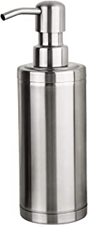 GAPPO Brushed Nickle Soap Dispenser Stainless Steel Metal Pump Hand Lotion Bottle for Bathroom, Bedroom and Kitchen