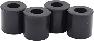 ApplianPar Black 3D Printer Hot Bed Leveling Column, Heat Bed Mounts Column Stable Tool Heat-Resistant Silicone Buffer for Anet A8 Prusa i3 Plus Anycubic Mega Wanhao D9 Pack of 4