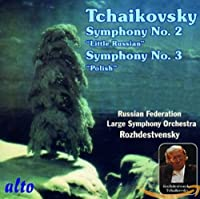 """Tchaikovsky: Symphony No.2 """"Little Russian"""" & Symphony No.3 """"Polish"""""""