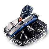 YNSW Rasierer Herren, Elektrorasierer Barttrimmer, Nasenhaartrimmer, Augenbrauen, Detailtrimmer und Multifunktionstrimmer