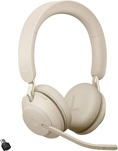 new arrival Jabra Evolve2 65 USB-C UC online sale new arrival Stereo - Beige Wireless Headset/Music Headphones online sale