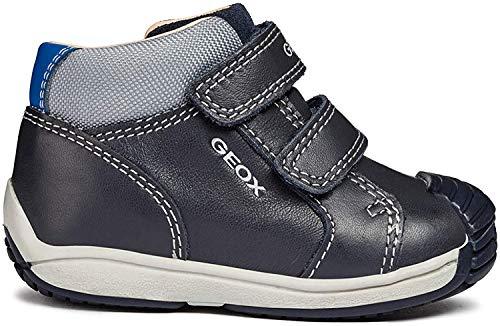 Geox B Toledo Boy B, Zapatillas para Bebés, (Dk Navy/Grey C4475), 21 EU