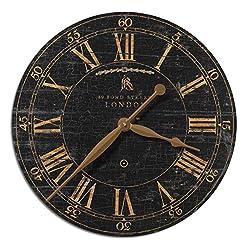 Uttermost Bond Street 18-Inch Wall Clock