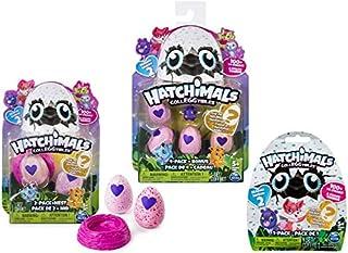 Hatchimal Colleggtibles Season 2 4-Pack + Bonus, 2-Pack + nest, 1 Blind Set (Random Assortment) Collectibles