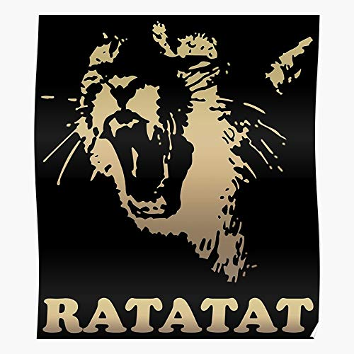 gotopo Alternative Ratatat Experimental Wildcat Album Recordings Rock Mast XL Evan Geschenk für Wohnkultur Wandkunst drucken Poster 11.7 x 16.5 inch