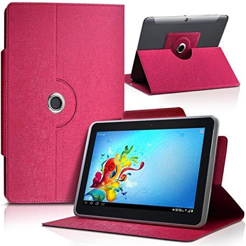 Seluxion-Funda universal tamaño L, color rosa, para tablet BQ Aquaris E10 10,1