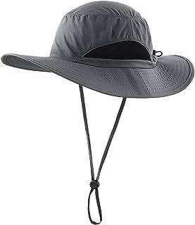 LLmoway کلاه محافظ ضد آفتاب بچه گانه کلاه سطل قابل تنظیم با لبه عریض و خشک