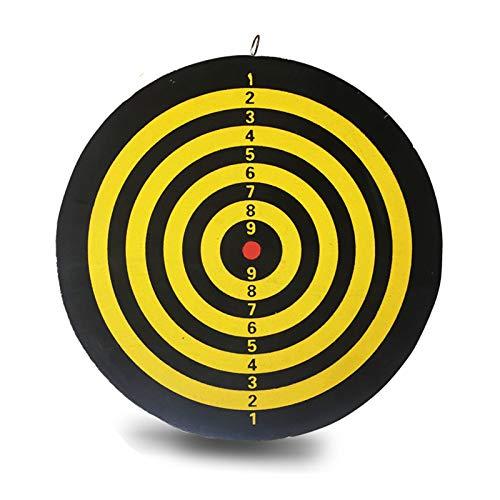 Dartnadel Dartscheibe Set Professioneller Wettbewerb Dart Target Indoor Leisure Entertainment Dartscheibe,12 inches + 6 Darts