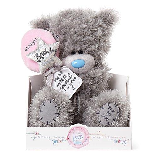 Me to You Happy Birthday Balloons Tatty Teddybär