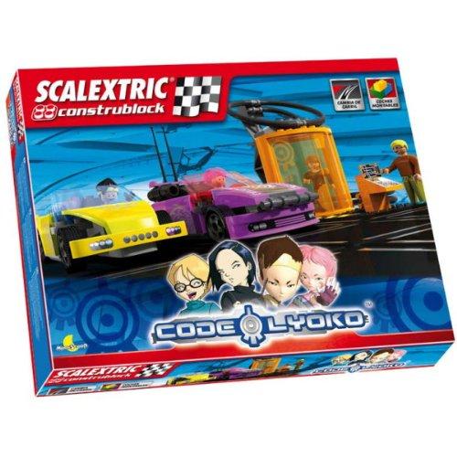 Scalextric - Circuito Compact Código Lyoko (Fabrica de Juguetes C10059S500)