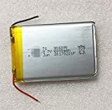 NO LOGO ZDX-NIUKOUDIANCHI, 1pc 6000mAh Celular li Ion Recargable de Litio de 3,7 V 906090 batería lipo polímero de E-Libro GPS PSP Power DVD Banco de Tablet PC