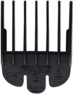 WAHL Professional Comb Attachment Black Size No.2 (1/4 inch) (Model:3124-001)