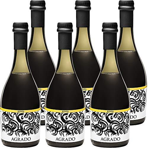 Bionda Agrado   Birra Artigianale dei Monti Picentini   Eccellenza Campana   Alta Qualità   Confezione 6 Bottiglie da 33 cl   Idea Regalo