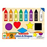 The Learning Journey Lift & Learn Puzzle - Colors & Shapes - Preschool Toys &...
