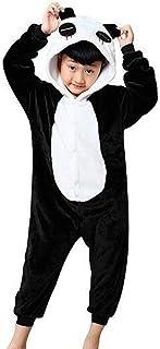48ff6acf31eba GWELL Unisexe Animal Pyjama Animaux Enfant Combinaison Cosplay Outfit  Vêtements de Nuit Déguisements Hiver Chaud Costume