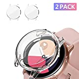 [2 Pack] UMTELE Compatible for Samsung Galaxy Watch Active Case,...