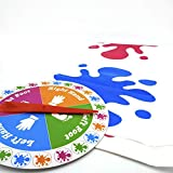 Floor Game /Foot Game: Bigger Mat, More Colored Spots, Family, Kids Party Game Age 6+