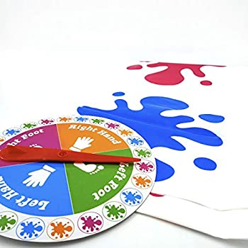 Floor Game Foot Game  Bigger Mat More Colored Spots Family Kids Party Game Age 6+