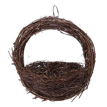 YAOYAN Nid d'oiseau Suspendu à la Main Oiseau Perroquet Reproduction nid Accessoires de Cage