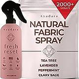 Ayadara Natural Fabric Spray | Lavender Linen Spray for Bedding, Pillow, Blanket, Sheet, Clothing, Carpet, & Couch | Aromatherapy Freshener, Deodorizer, & Odor Eliminator Mist | 2000+ Sprays