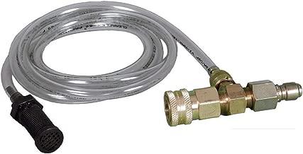 pressure washer downstream injector