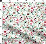 Schneemann, Lebkuchenmann, Lebkuchen, Weihnachten, Baum,