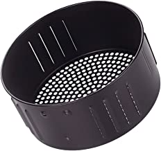 Angoily Ar Fritadeira Cesta de Substituições Não- Stick Fry Cesta para Fritadeira Ar Fritadeira Ar Forno Acessórios 3. 5L