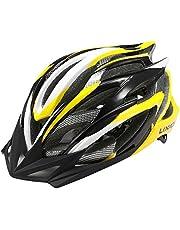 Lixada Fietshelm, mountainbikehelm 25 ventilatieopeningen verstelbare comfortabele veiligheidshelm voor outdoor sport rijden fiets