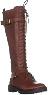 Lucky Brand Womens Almond Toe Knee High Fashion Boots US