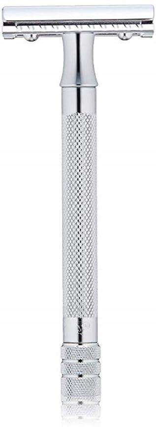 夜対角線曲げるメルクール MERKUR (独) 髭剃り MK-23C(ひげそり) 両刃ホルダー (替刃1枚付) [並行輸入品]