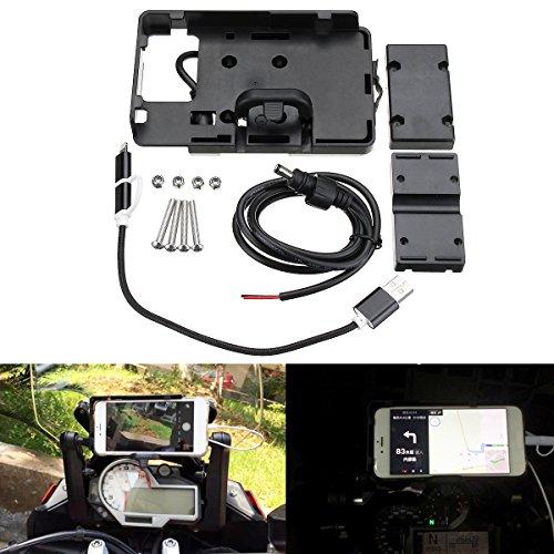 Viviance GPS USB Navigatie Telefoon Beugel Oplader Voor BMW S1000R S1000XR R1200GS R1200R