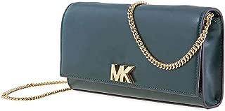 Mott Leather Chain Wallet Green