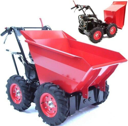 Minidumper Motorschubkarre Muldenkipper Raddumper 56137 Schubkarre Motor Dumper AWZ