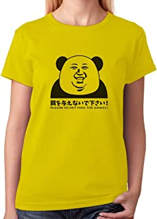 Tstars - Kim Jong un Panda North Korea Funny Women T-Shirt