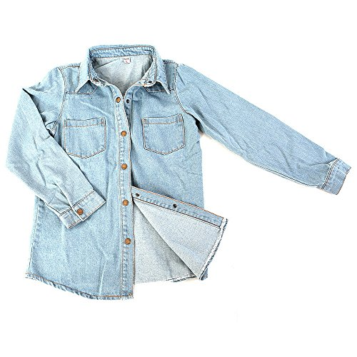 『デニムジャケット Gジャン タンガリーシャツ レディース (S)』のトップ画像
