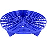 VIKING Automotive Bucket Insert Grit Trap for Car Cleaning Wash and Detail Kits, Helps Remove Dirt and Debris from Microfiber, Mitts, Cloths, and Sponges, Blue