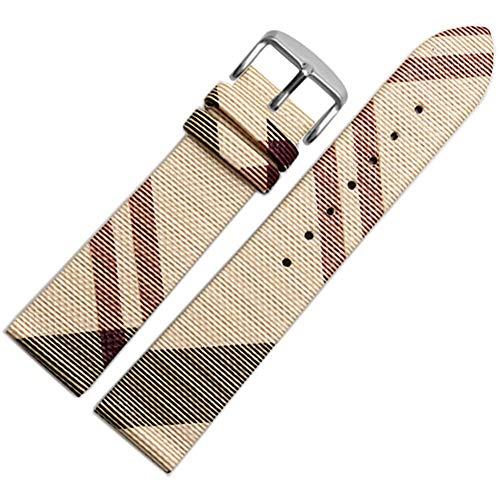 16mm Calfskin Leather Watch Band Replacement Watch Strap Quick Release with Tool Fit for All Brands of Watch