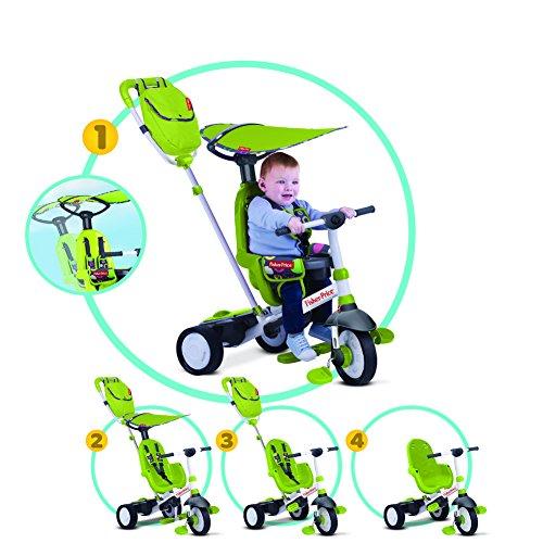 Fisher Price - Fp3200033 - Tricycle - Charisma - 4 en 1 - Vert