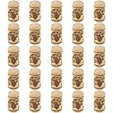 Thursday April 100 Pcs Corchos de Vino Tapones de Botella de Corcho Natural Tapón de Corc...