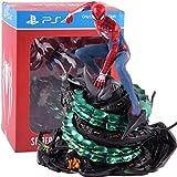 hoopoo ps4 spider-man collectors edition spiderman action figure in pvc statua da collezione toy model (color : with retail box)