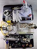 Conjunto completo de laboratorio de equipo de vidrio químico Caja de herramientas Ciencia Industrial Experimento Conjunto de herramientas Materiales didácticos
