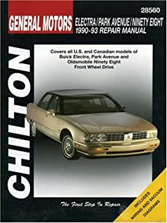 GM Electra, Park Avenue, Ninety-eight (1990-93) (Chilton Total Car Care)