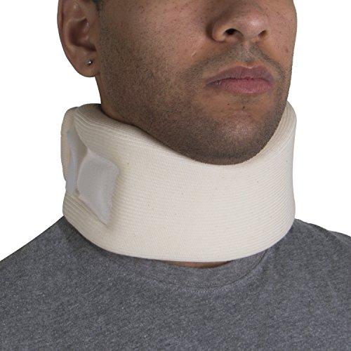 "OTC Cervical Collar, Soft Foam, Neck Support Brace, Medium (Average 3"" Depth Collar)"