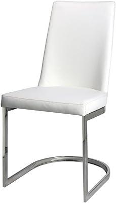 PEÑA VARGAS - C&C - Sillas de Comedor Modernas - Silla Round Blanca