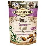 Carnilove Crunchy Snack Quail & Oregano, Premios para Perro, 200G - 200 gr