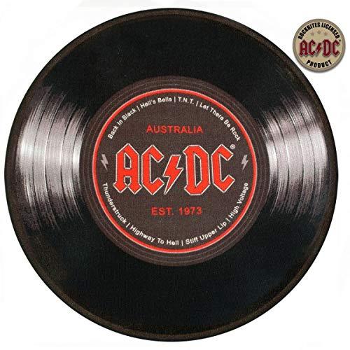 Geschenktrends Rock Bites–Alfombra Redonda AC/DC