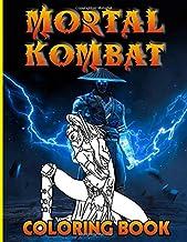 Mortal Kombat Coloring Book: The Crayola Mortal Kombat Coloring Books For Adults, Teenagers (Exclusive Illustrations)