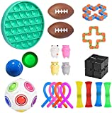 ZNNCO Sensory Fidget Toys Set,Stress Relief and Anti-Anxiety Tools Bundle, Bundle Sensory Therapy Toys for ADHD Autism Stress Anxiety