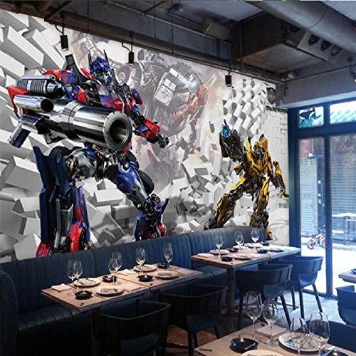 Tapete Fototapete Transformers Stereo Optimus Prime Wanddekoration Spielplatz Kinderzimmer Fototapete 200 * 140Cm