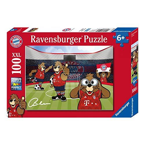 Bayern München Puzzle - Berni in der Allianz Arena - kompatibel FCB - Plus Lesezeichen I Love München